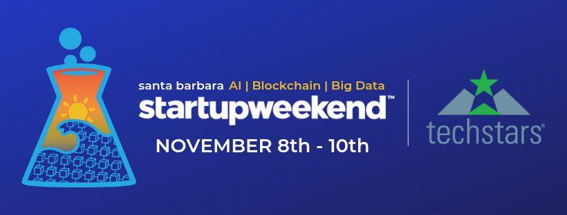 Startup Weekend SB: AI | Big Data | Blockchain title=