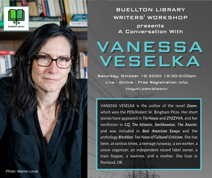 A Conversation with Vanessa Veselka title=