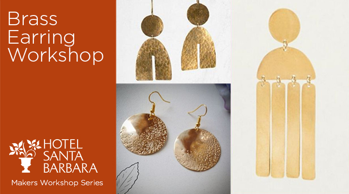 Mother's Day Brass Earring Workshop title=