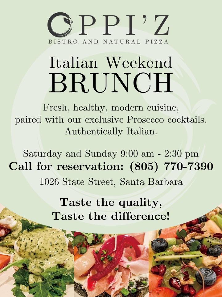 Italian Weekend Brunch