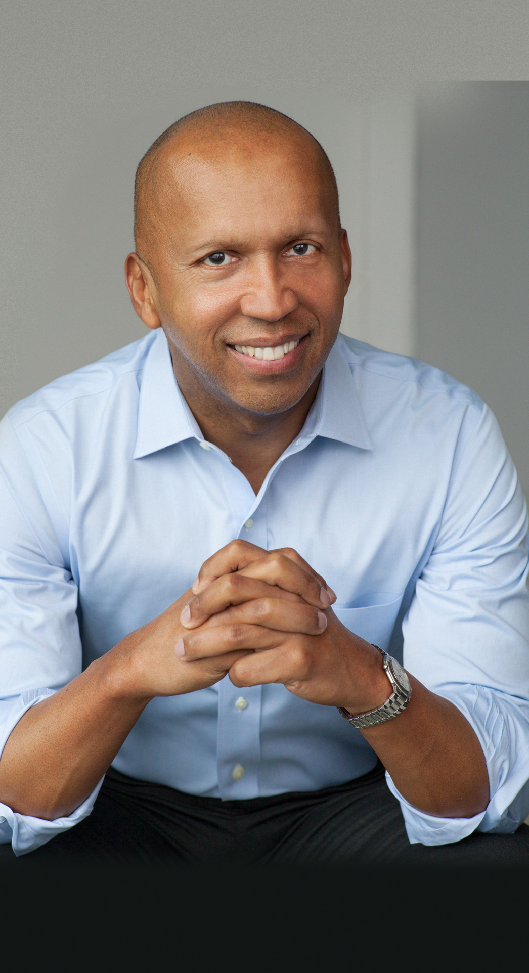 Bryan Stevenson, founder of the Equal Justice Initiative, for American Injustice: Mercy, Humanity and Making a Difference title=