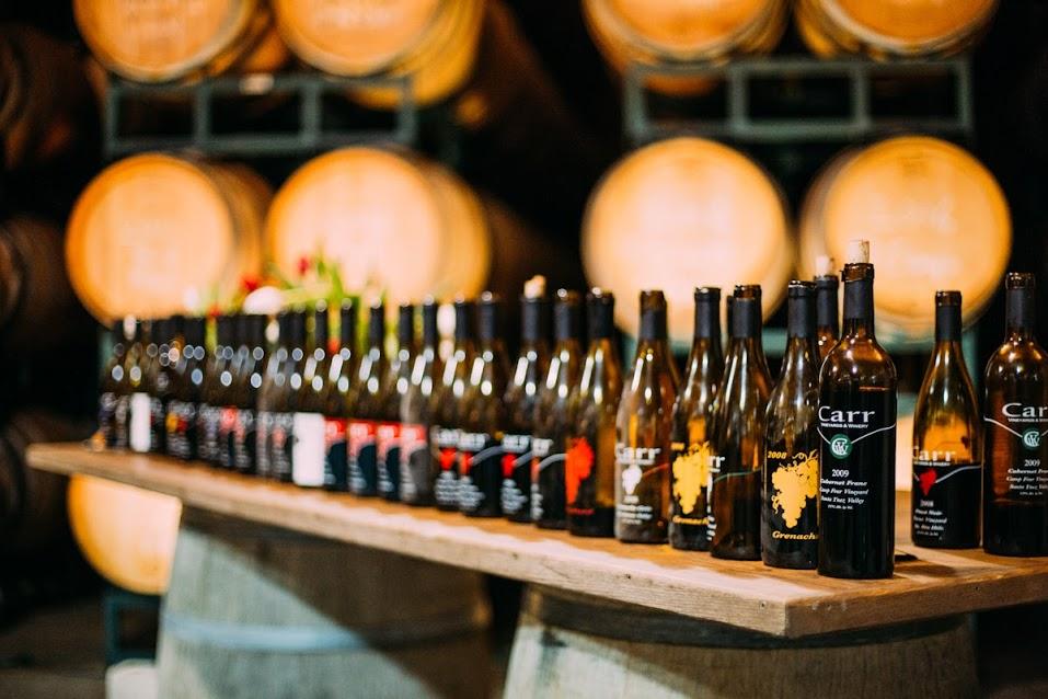 Carr Winery Cellar Raid 2020 title=