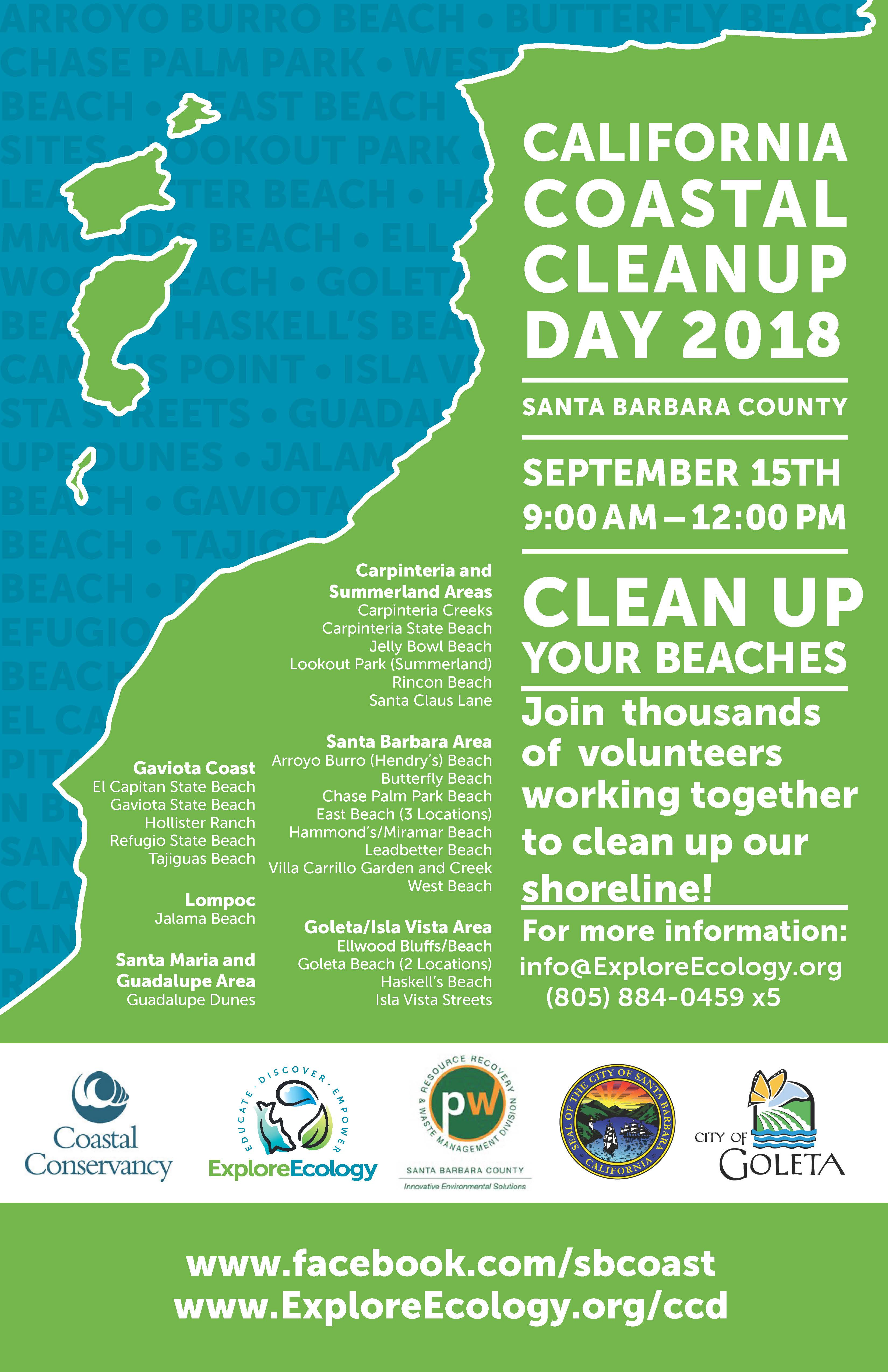 The Ocean Needs You on Coastal Cleanup Day