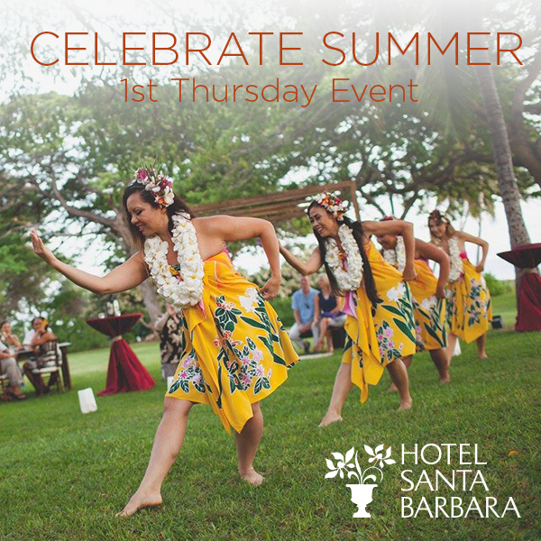 1st Thursday Celebrate Summer picture of hula dancers