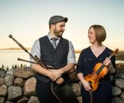 Celtic! Cape Breton Fiddle with Scottish Borderpipes - Ben Miller and Anita MacDonald title=