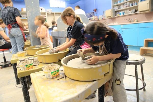 Summer Ceramics Camp