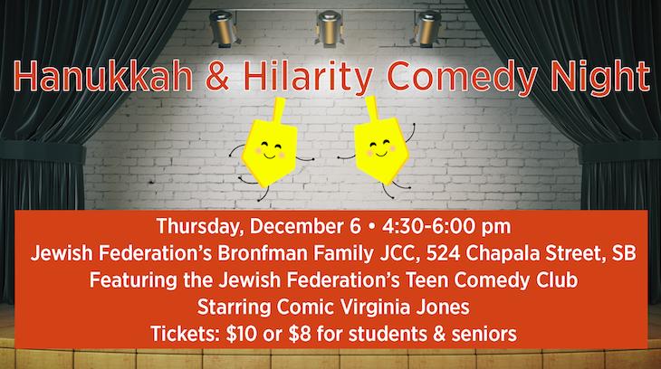 Hanukkah & Hilarity Comedy Night