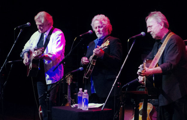 ANTA BARBARA MUSIC FOUNDATION PRESENTS An evening with Chris Hillman, Herb Pedersen with John Jorgenson PROCEEDS TO BENEFIT THE UNITED WAY THOMAS FIRE FUND title=