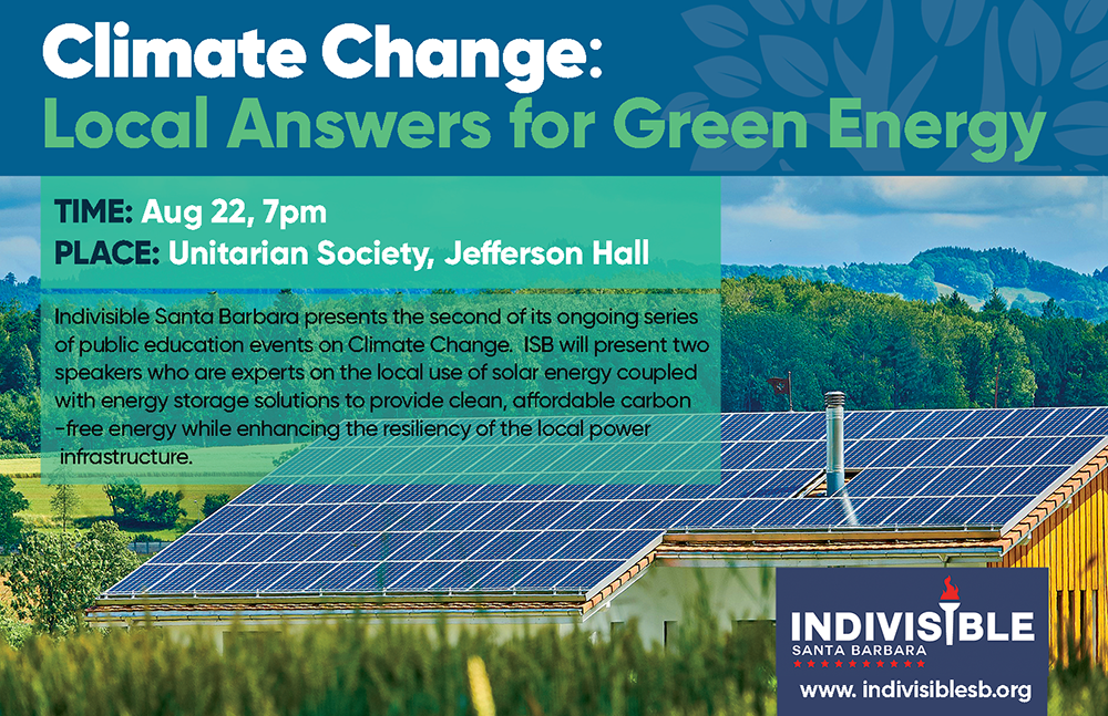 An ISB Event: Climate Change: Local Answers for Green Energy title=