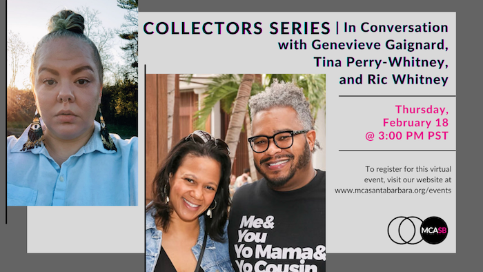 Collectors Series   In Conversation with Geneveive Gaignard, Tina Perry-Whitney, and Ric Whitney title=
