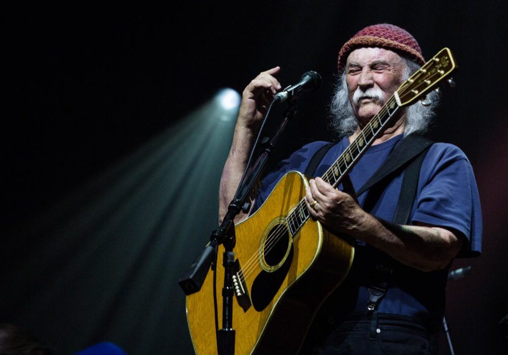 An evening with David Crosby & the Sky Trails Band title=