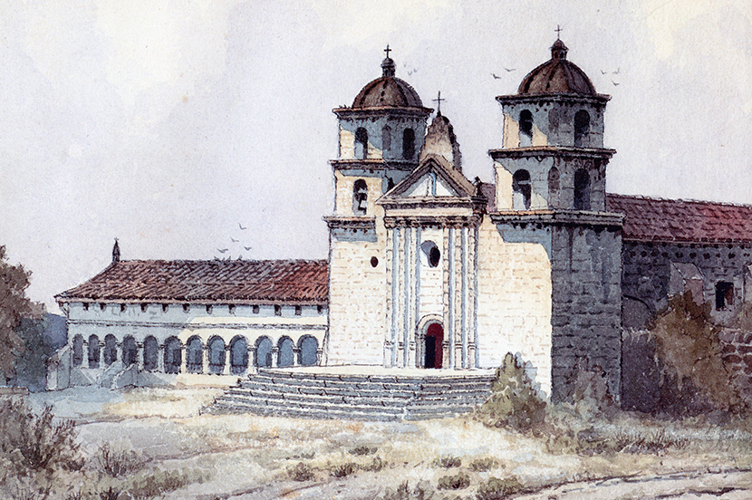 1st Thursday – Sacred Art in the Age of Contact & Missions In Watercolor title=