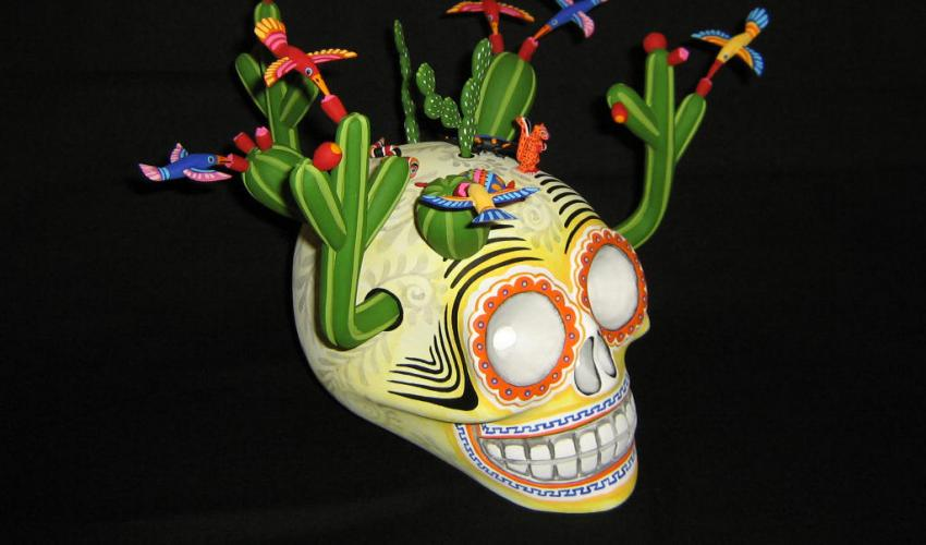 Live from Oaxaca - Celebrating Day of the Dead (via Zoom): Artisan Studio Visit with Wood Carver Zeny Fuentes Santiago title=