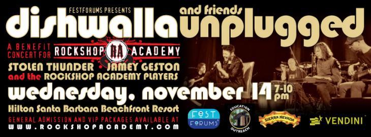 Dishwalla and Friends Unplugged - A Benefit Concert for Rockshop Academy title=