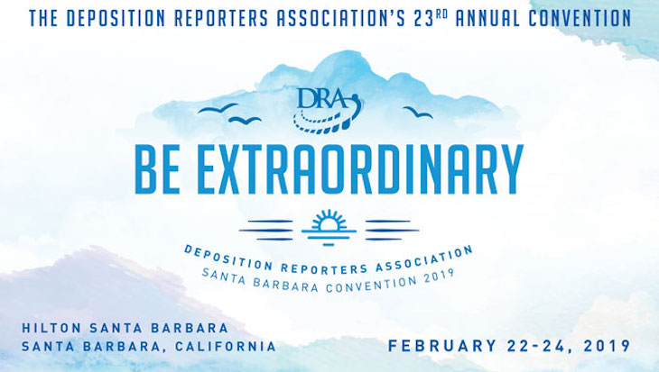 Deposition Reporters Association 23rd Annual Convention title=