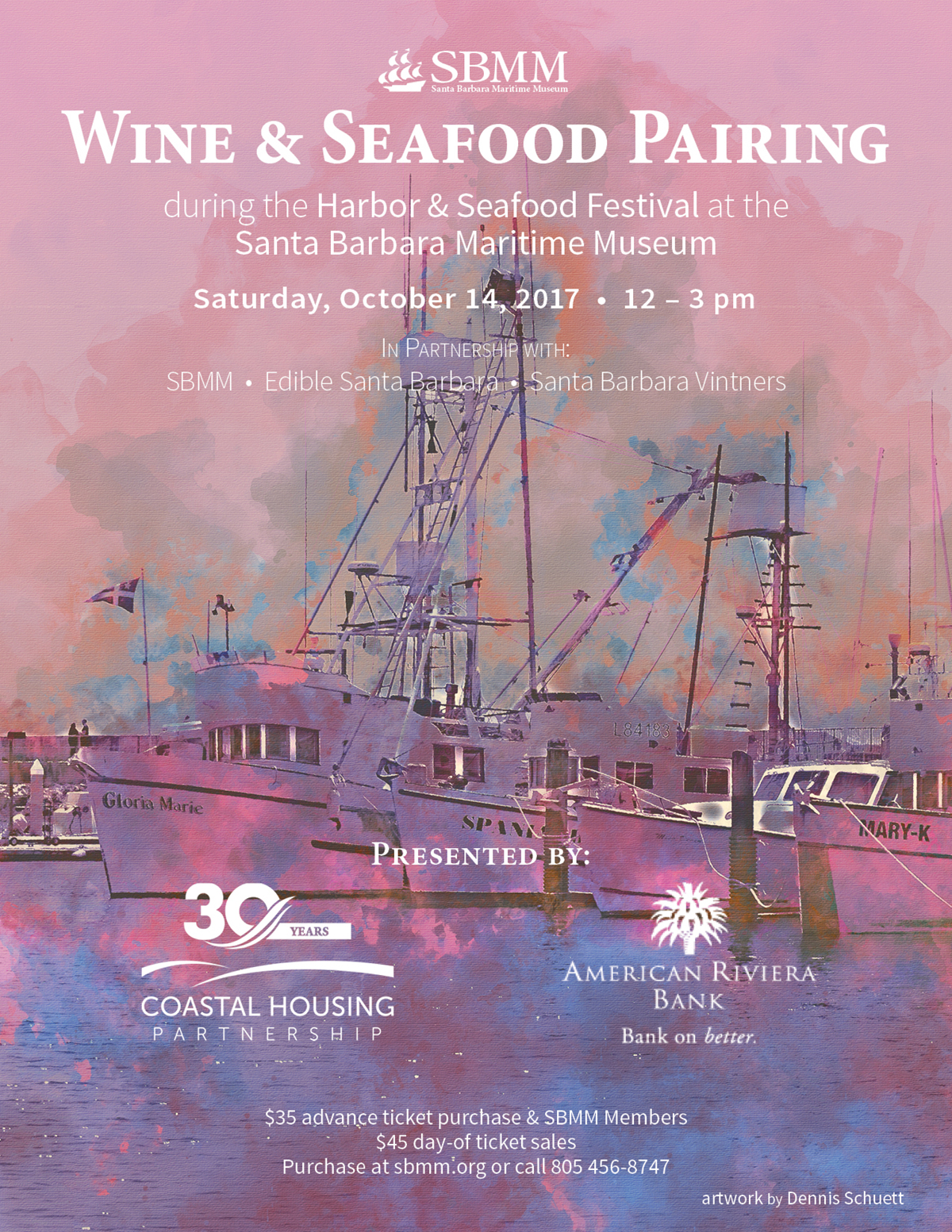 Wine & Seafood Pairing title=