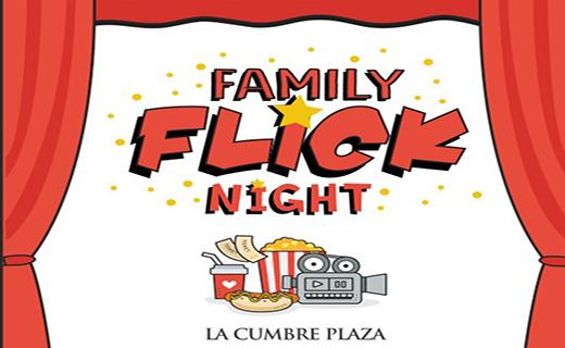 Family Flick Night at La Cumbre Plaza is Back! title=