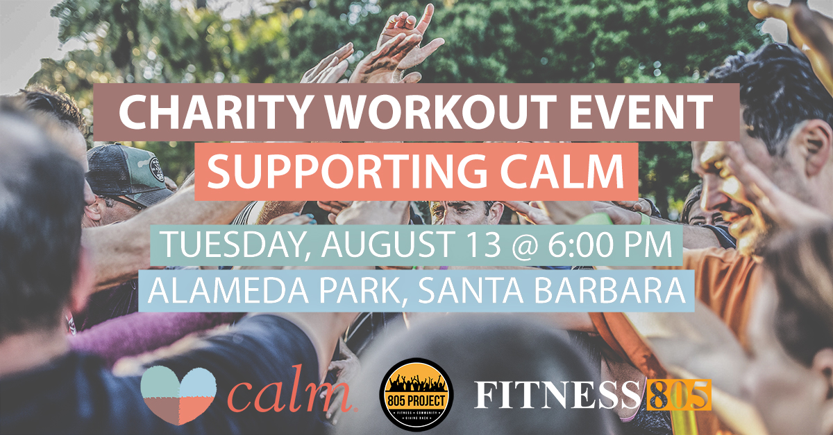 Charity Workout Event Supporting CALM title=