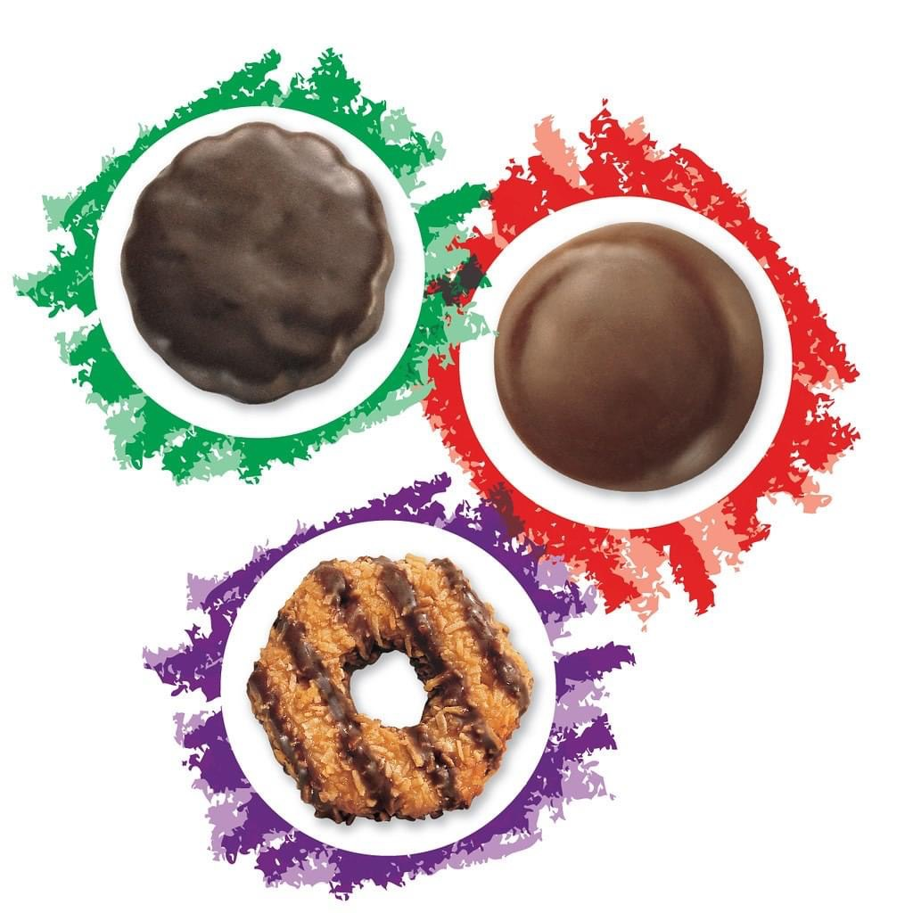Girl Scout Cookie Sale at La Cumbe Plaza title=