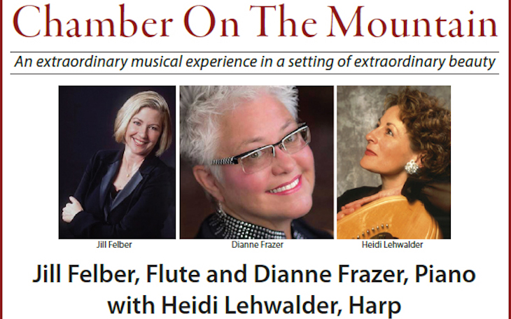 Chamber On The Mountain's first concert of the 2017-18 season!