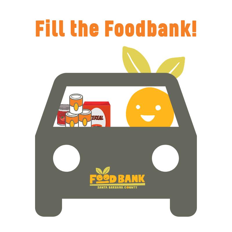 Fill the Foodbank! Drive-Thru Food Drive title=