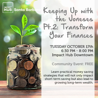 Keeping Up with the Joneses Pt. 2: Transform Your Finances