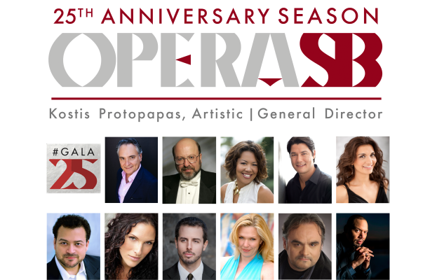 OPERA SANTA BARBARA PRESENTS 25th Anniversary Gala Concert title=