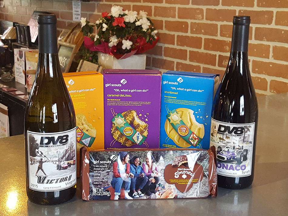 Girl Scout Cookie and Wine Pairing title=