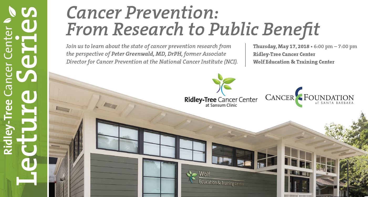 Cancer Prevention: From Research to Public Benefit