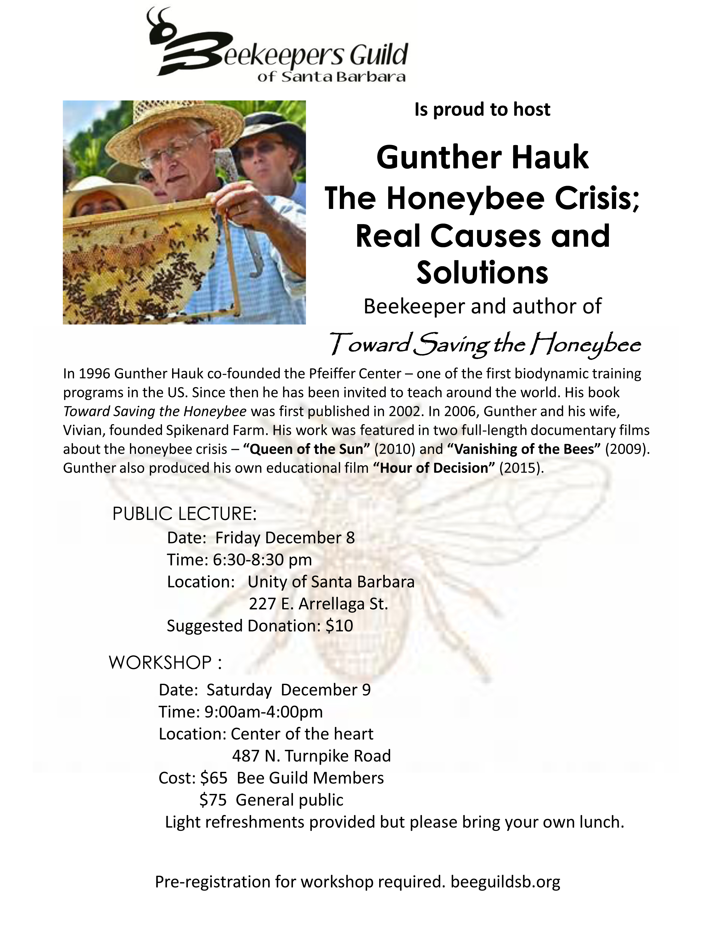 Gunther Hauk The Honeybee Crisis; Real Causes and Solutions title=