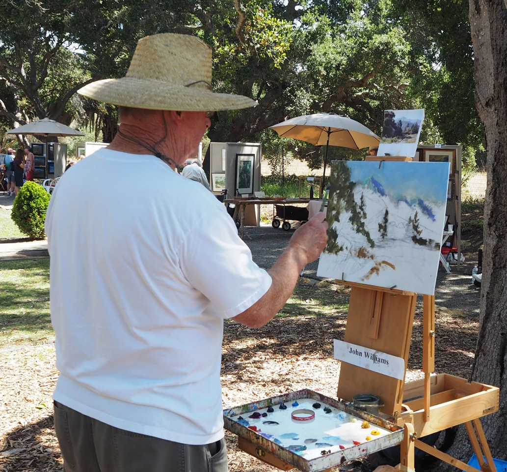 Goleta Valley Art Association  14th Annual Stow House Art Festival