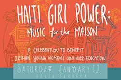 Haiti Girl Power: Music for the Maison title=