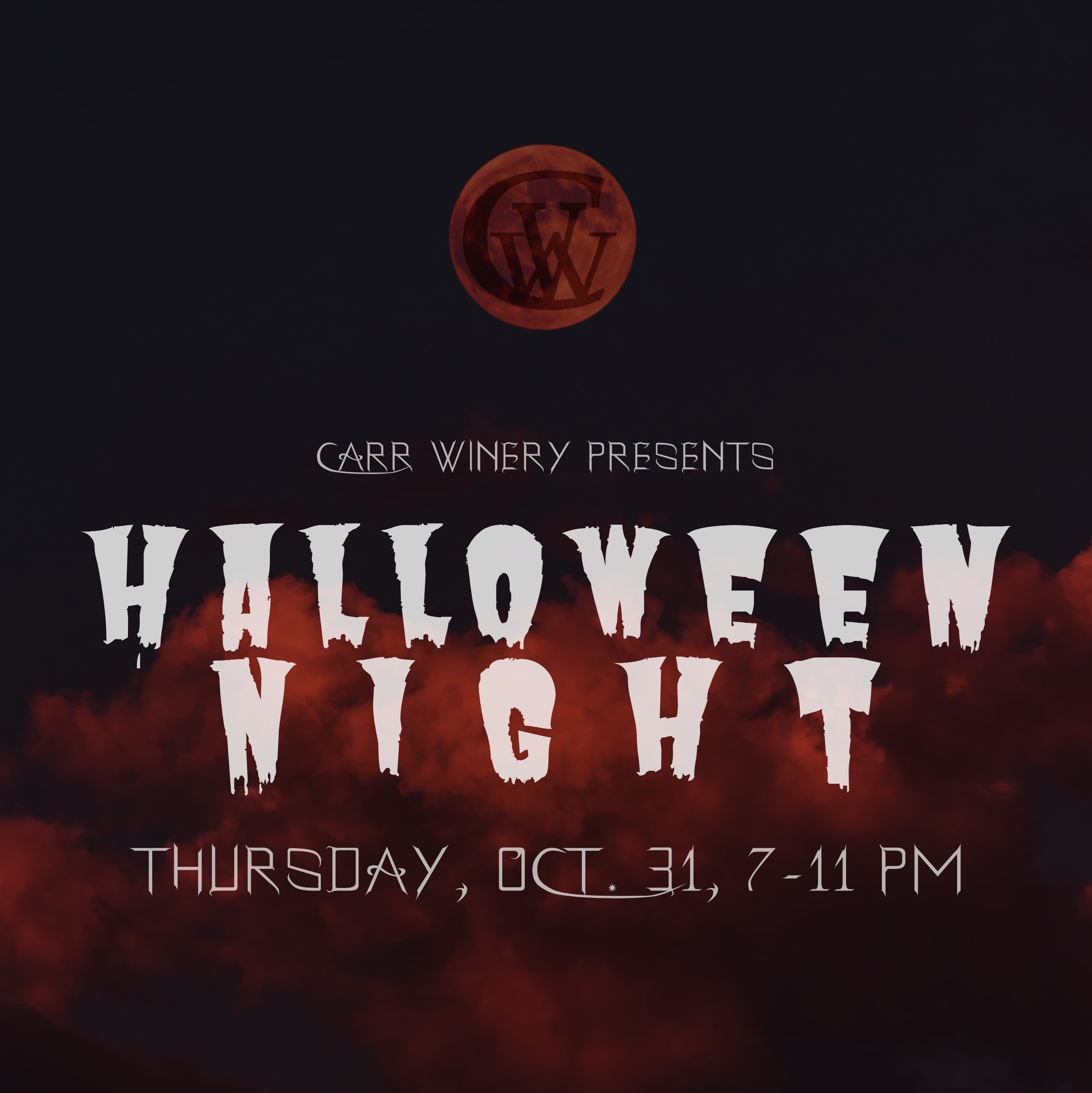 Carr Winery Halloween Party title=