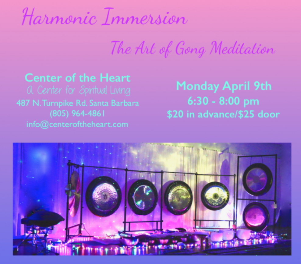 Harmonic Immersion: The Art of Gong Meditation