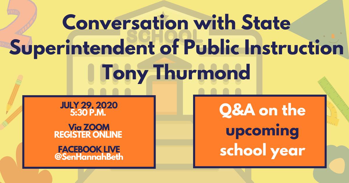 Conversation with CA Superintendent of Public Instruction Tony Thurmond title=