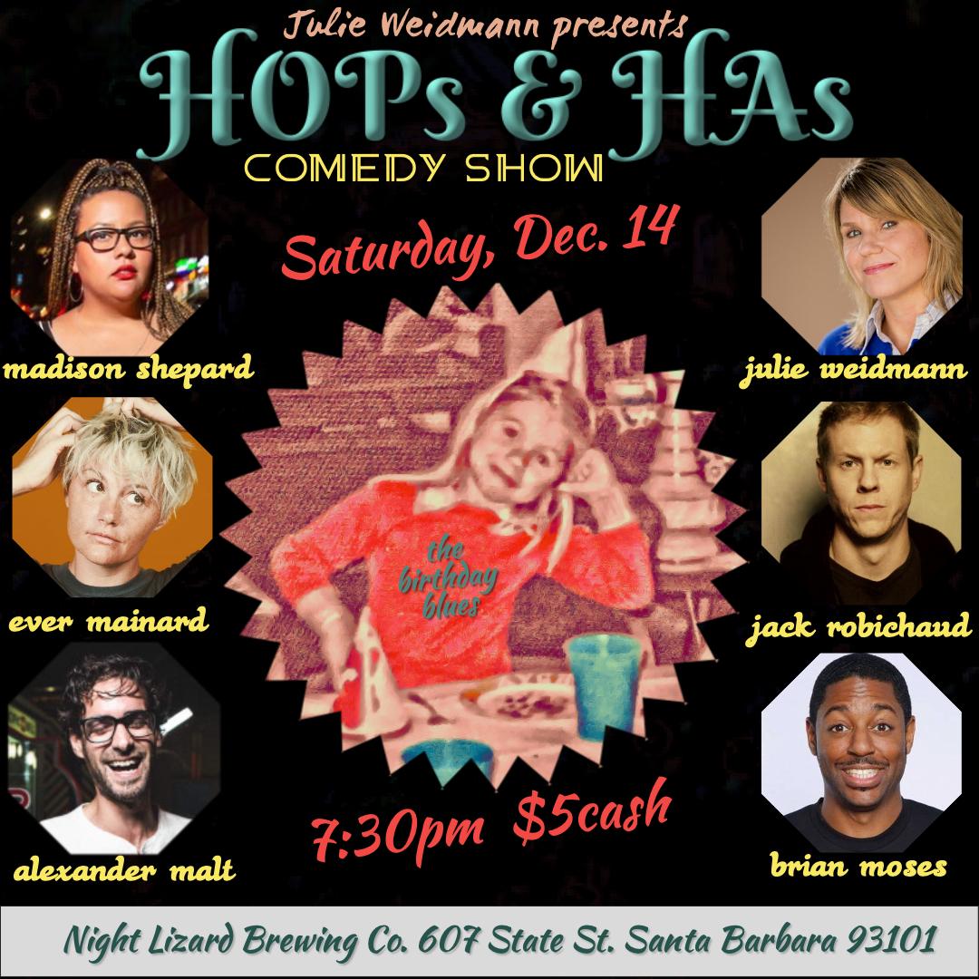 HOPs & HA's comedy show