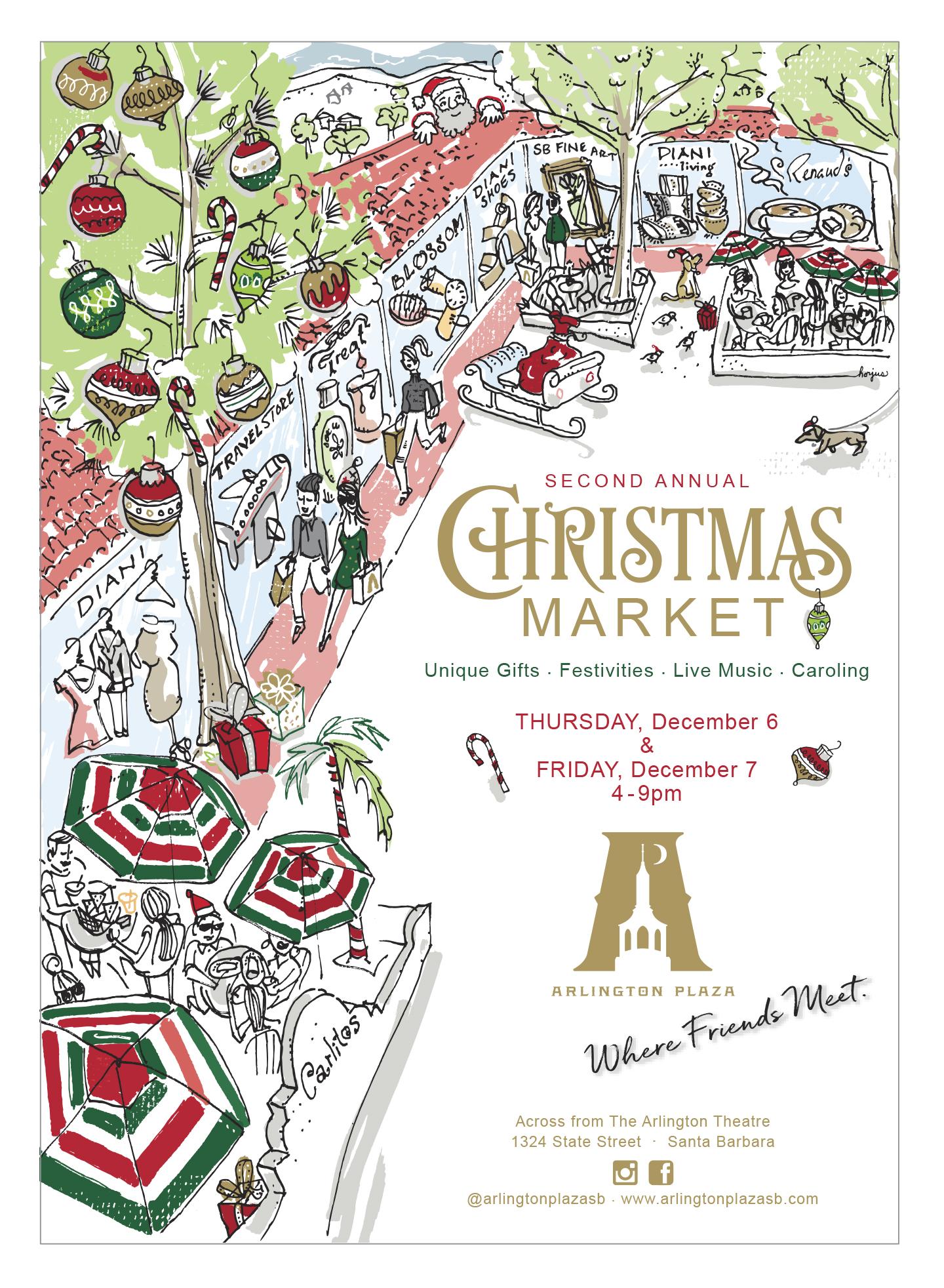 Arlington Plaza 2nd Annual Christmas Market title=