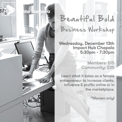 Beautiful Bold Business Workshop title=