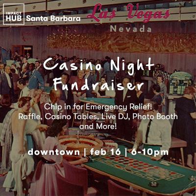 Casino Night Fundraiser  title=