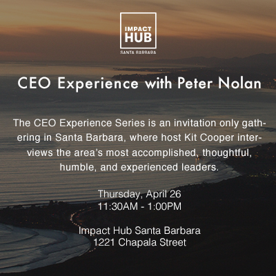 CEO Experience Series: Peter Nolan title=