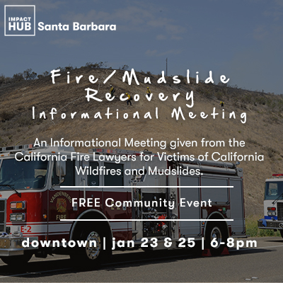 Fire/Mudslide Recovery - Informational Meeting