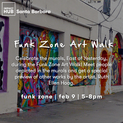 Funk Zone Art Walk title=