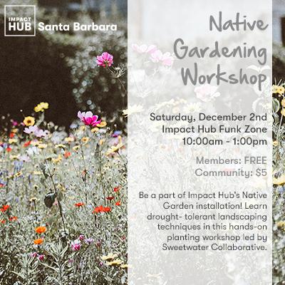 Native Gardening Workshop title=
