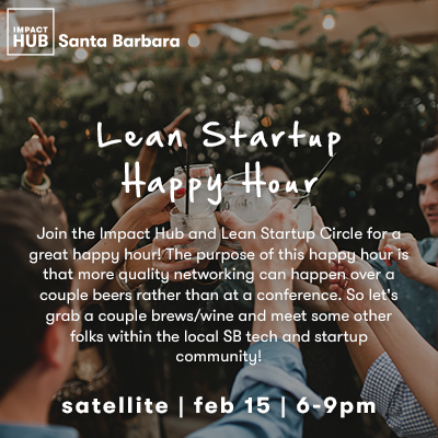 Lean Startup Happy Hour  title=