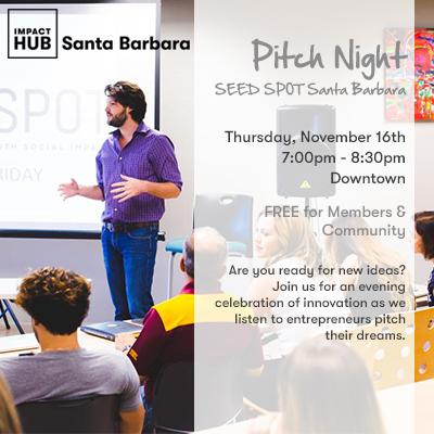 Pitch Night: SEED SPOT Santa Barbara title=