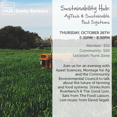 Sustainability Hub: AgTech & Sustainable Food Systems title=