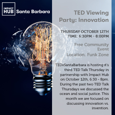 TED Viewing Party: Innovation title=