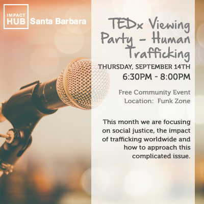 TED Talk Viewing Party on Human Trafficking title=