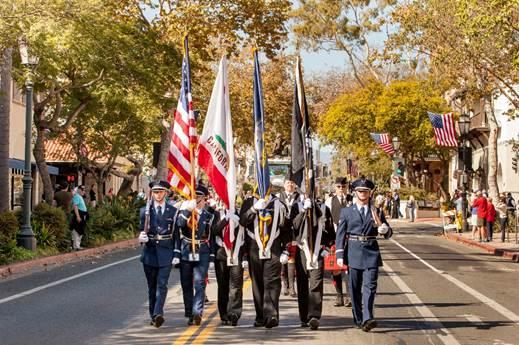 Santa Barbara Veterans Parade