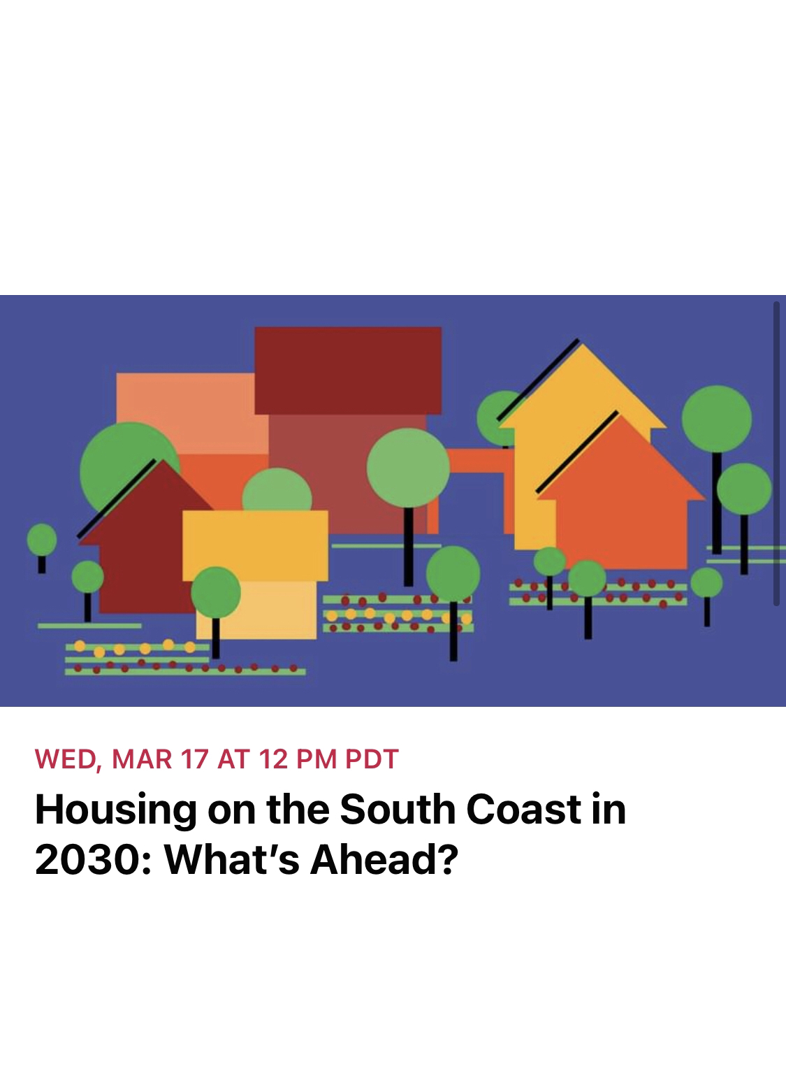 Housing on the South Coast in 2030: What's Ahead?